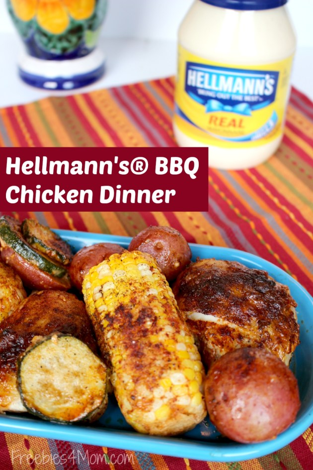 Hellmann's® BBQ Chicken Dinner Recipe ~ One Pot Meals