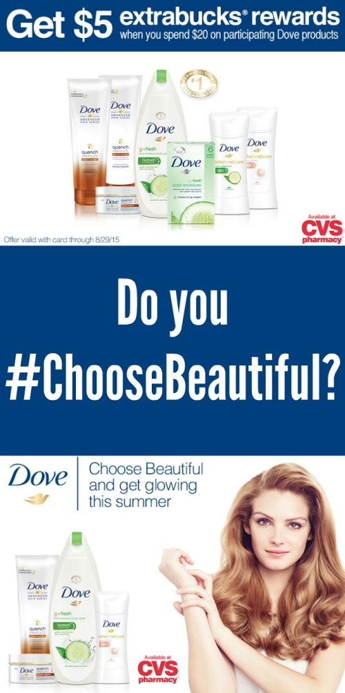 CVS Deal: Buy $20 of Dove, Get $5 extrabucks® Rewards