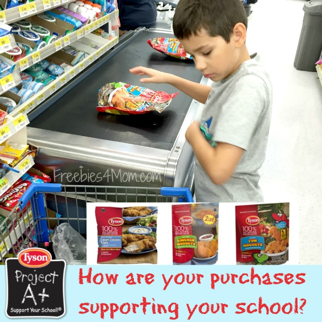 Buying Tyson Project A+ products at Walmart