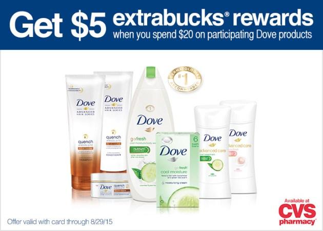 Dove deal at CVS