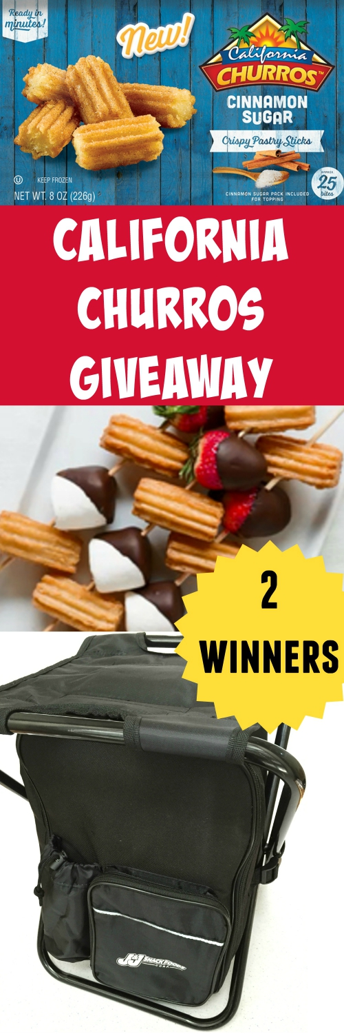 California Churros Prize Pack Giveaway ~ Print Your Churros Coupon!