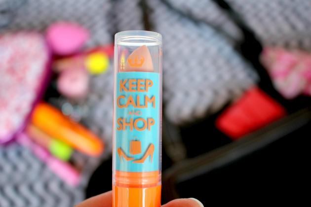Rimmel Keep Calm and Shop clear lip balm