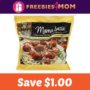 Coupon: $1.00 off one Mama Lucia Meatball