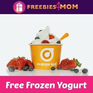 Free Frozen Yogurt for Kids at Orange Leaf