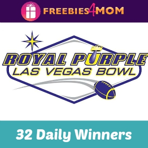Sweeps Royal Purple Las Vegas Bowl