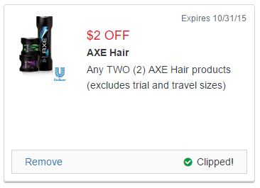 AXE Coupon