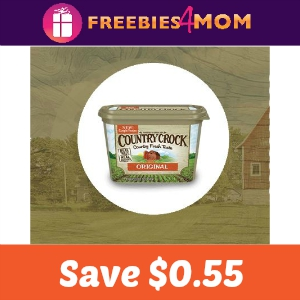 Save $0.55 of any Country Crock product
