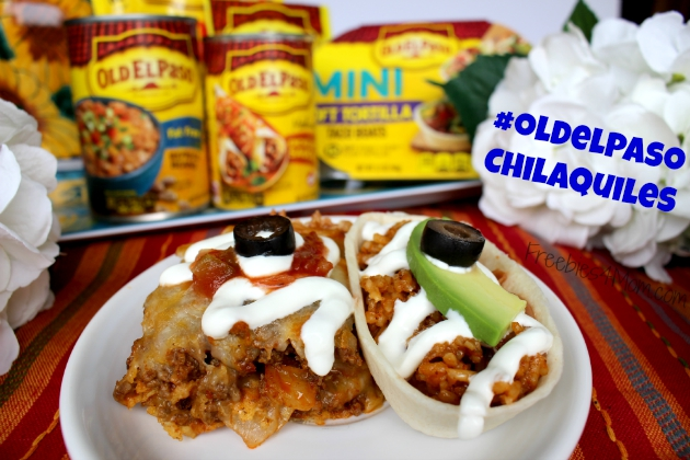 Chilaquiles with Old El Paso products