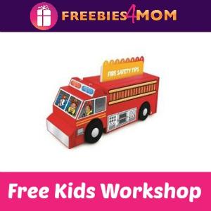 Free Fire Truck Lowe's Kids Clinic Build