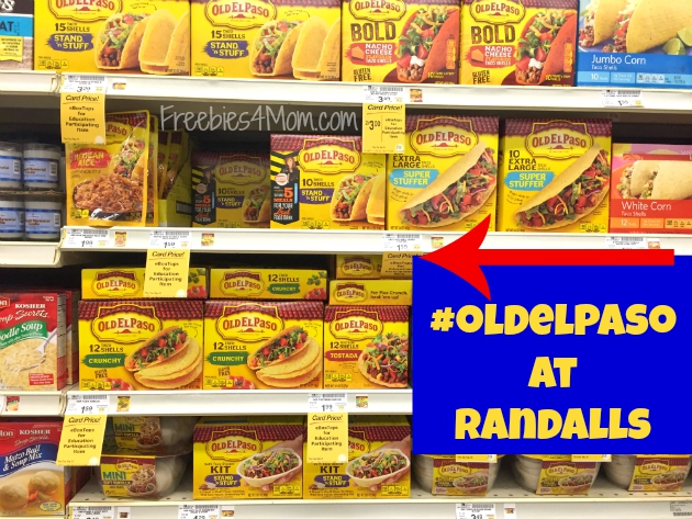Old El Paso products available at Randalls