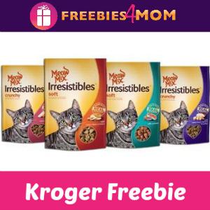 Free Meow Mix Irresistibles Cat Treats at Kroger