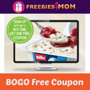 Coupon: BOGO Free Muller Yogurt