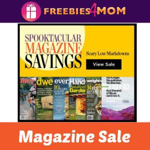 Spooktacular Magazine Sale