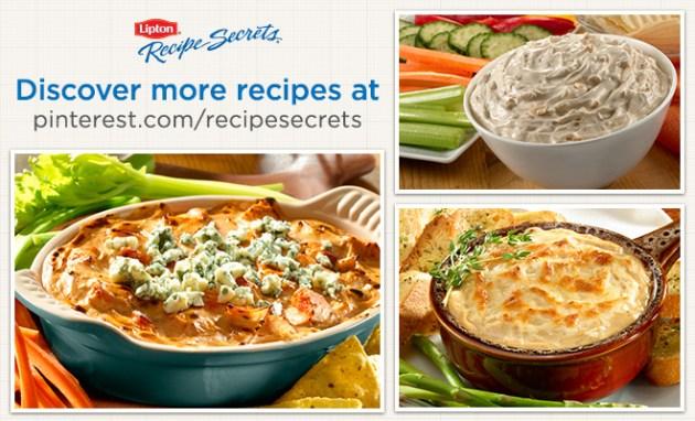 Lipton Recipe Secrets Dip Recipes