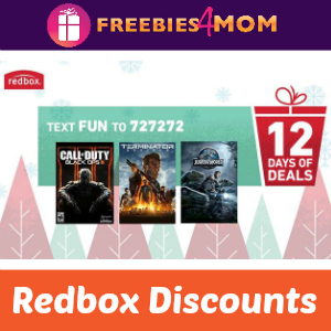 Redbox 12 Days of Deals (ends 12/8)
