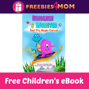 Free Children's eBook: Dinosaur and Monster