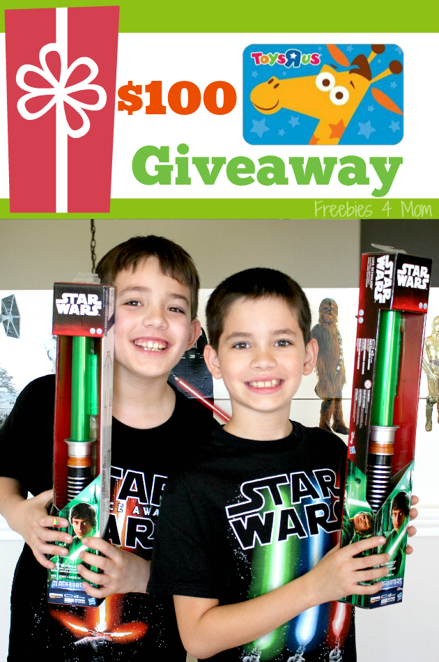 "$100 Toys""R""Us & Duracell Batteries Giveaway ~ Star Wars BladeBuilders Light Sabers"
