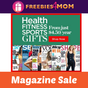 Health, Fitness and Sports Magazine Deals