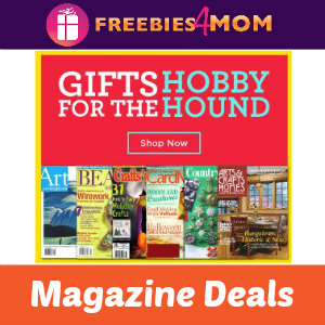 Magazine Gifts For The Hobby Hounds