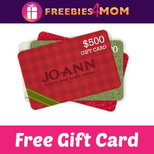 Free Jo-Ann Fabric Gift Cards