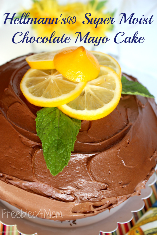 Hellmann Mayo Cake Recipe