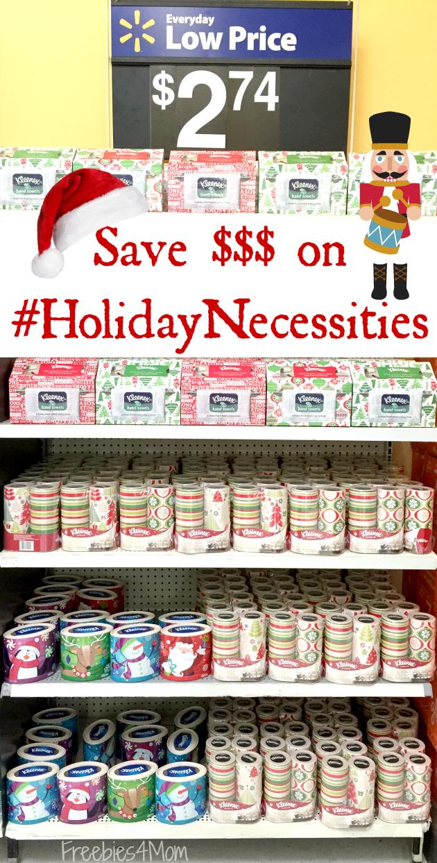 Save Money on #HolidayNecessities at Walmart