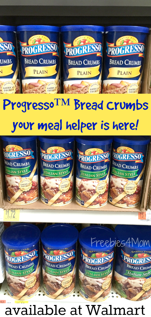 Progress Bread Crumbs at Walmart