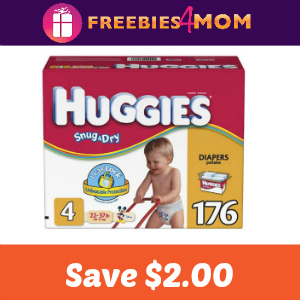 Coupon: Save $2.00 off one Package Huggies