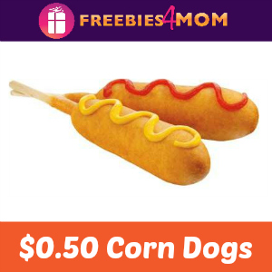 $0.50 Corn Dogs at Sonic Sept. 27