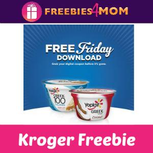 Free Yoplait Yogurt at Kroger