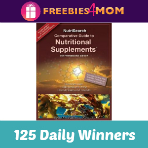 Dr. Oz Nutrisearch Sweeps (125 Daily Winners)