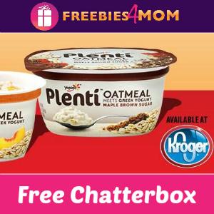 Free Chatterbox: Yoplait Plenti at Kroger