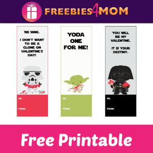 photograph regarding Printable Valentine Bookmark known as Cost-free Printable Star Wars Valentine Bookmarks