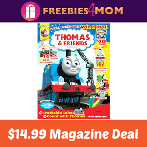 Magazine Deal: Thomas & Friends $14.99