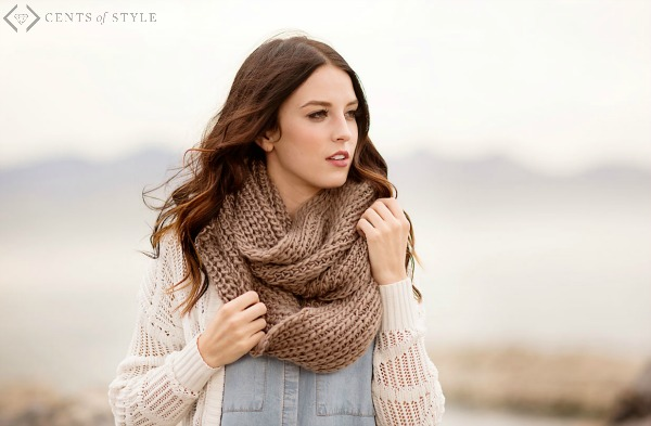 50% Off Knit Scarves (Starting Under $5)
