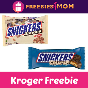 Free Snickers Crisper or Almond at Kroger