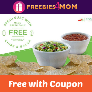 Free Guacamole with Chips & Salsa at Chili's
