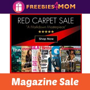 Red Carpet Magazine Sale