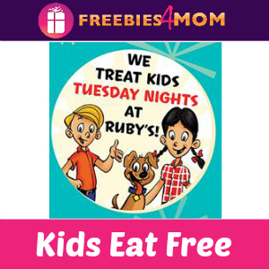 Kids Eat Free at Ruby's Diner (Tuesdays 4-close)