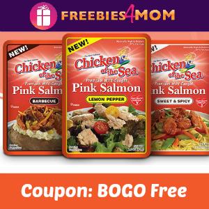BOGO Free Chicken of the Sea Salmon Pouches