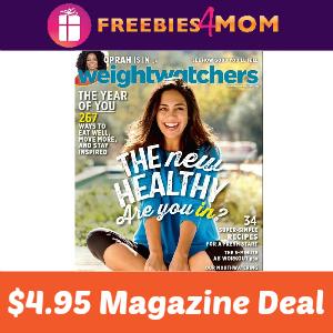 Magazine Deal: Weight Watchers $4.95