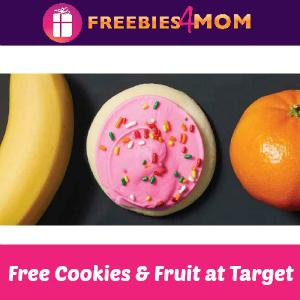Free Cookies & Fresh Fruit at Super Target
