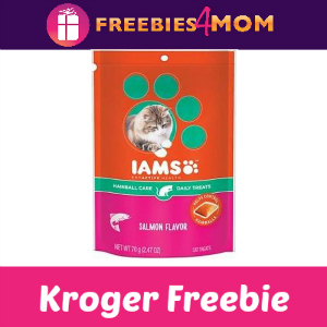 Free IAMS Cat Treats at Kroger
