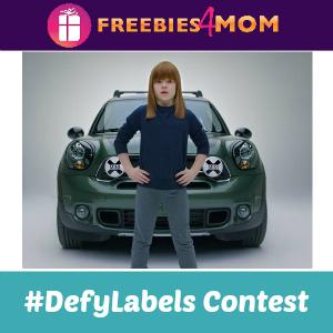 MINI USA #DefyLabels Contest