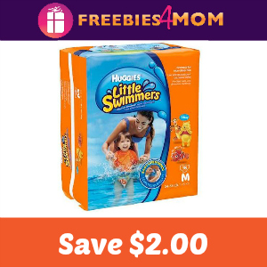 Coupon: $2.00 off Huggies Little Swimmers