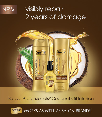 Suave Professionals Coconut Oil Infusion available at Walmart