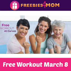 Free Workout at Curves March 8