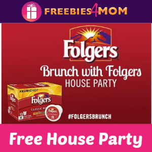 Free House Party: Brunch With Folgers