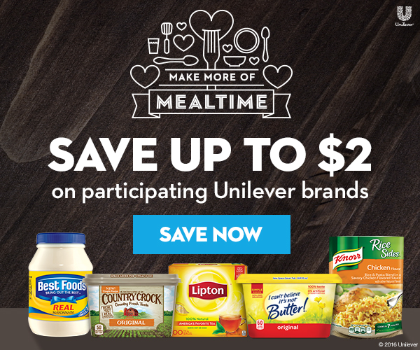 Save up to $2 on participating Unilever brands at Safeway