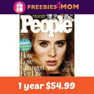 Magazine Deal: People $54.99